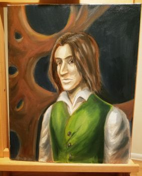 Daniel of Mayfair: Oil Painting by ZerachielAmora