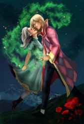Love spell- Howl and Sophie by Alimac