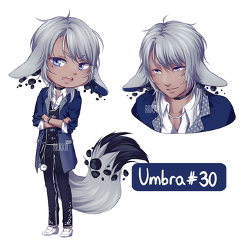 CLOSED OTA Umbra #30 by Riukkii