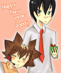1827 : Happy New Year by sarafyna-chan
