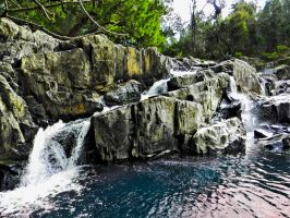 Waterfall HDR by SByrnes