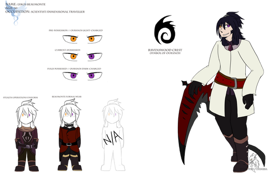 Reference :: Lykos Beaumonte by Hollowed-Chimera