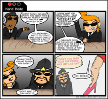 Hard Mode 006- Agents Aren't- by HardModeComics