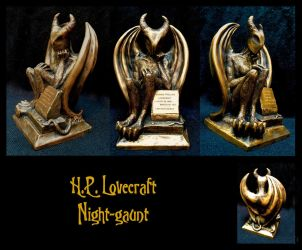 H.P. Lovecraft - Night-gaunt by zombiequadrille