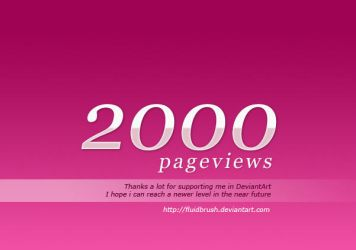 2000 Pageviews by fluidbrush