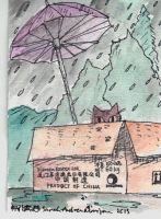 Raining Cats #3 (2013) by ladywillowpdx