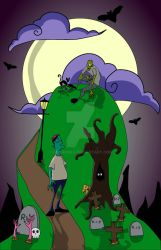 Zombie Mountain by L-exandra