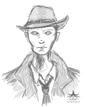 Nick Valentine (Fallout 4) by asinx