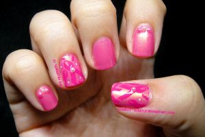 Ribbons and Pearls: Breast Cancer Awareness by Cowboy-Slightly