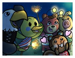 Sparklers by JellySoupStudios