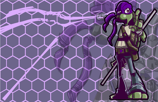 Donatello (TMNT) - A SkipperWing Treatment by SkipperWing