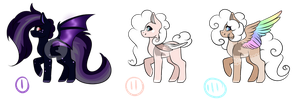 Adopts Set Price {2/3}  Lowered Price by curledcreations