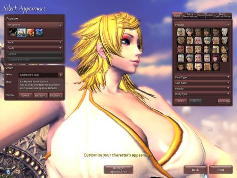 Paula Blade And Soul version by GRYPHON-POWERFULL