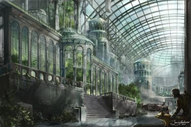 Greenhouse by Travis-Anderson