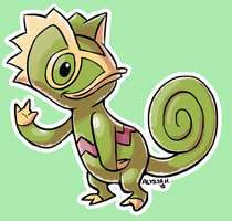 #352 Kecleon by little-ampharos