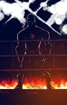 DAREDEVIL NUMBER TWO by Fredericmur