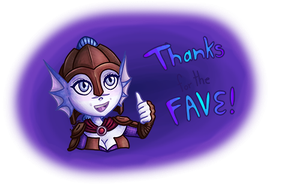 Thanks for the Fave smol by Arietta-Cantabile