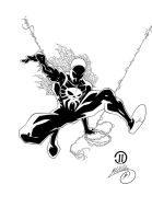 Spider-Man 2099 Ink # 1 by SWAVE18