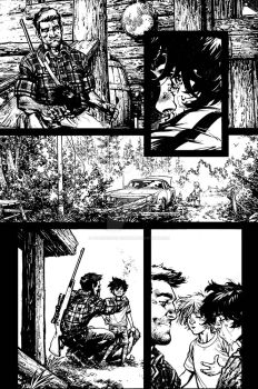 The Cape Fallen Issue 4 page 3 inks