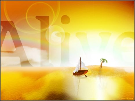 Alive Digital Illustration by djgeringer