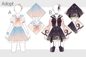 ( Set Price) Outfit Adopt #2 [open] by LuminousPP