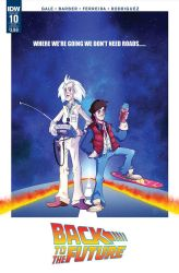 IDW Back to the Future #10 by Phil-Crash-Murphy
