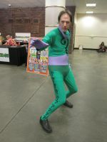 Riddler Cosplay by videogameking613