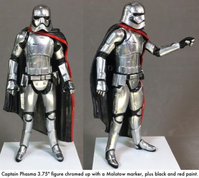 Chromed Phasma 2 - Molotow chrome marker by dvandom