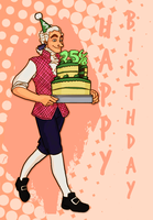 Happy B-Day, A-Hams by Publius-Reporter