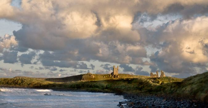 Dunstanburgh Castle 3 by newcastlemale