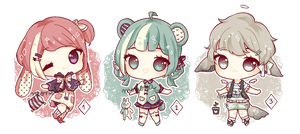 (closed) Pastel Batch #2 by riemika