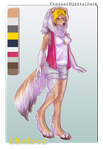 [Commission] Anthro design | Chelsea by FrossetHjerte