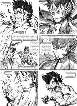 Saint Seiya #036 - The duty of a Knight by Gugaaa