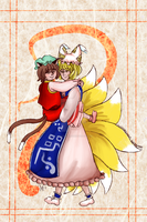 Ran and Chen by ilovefossils