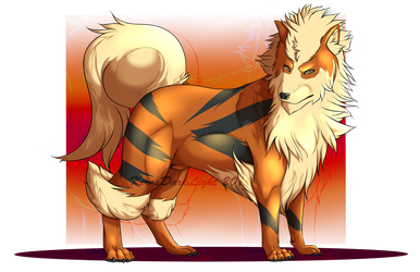 Arcanine by KirasDarkLight