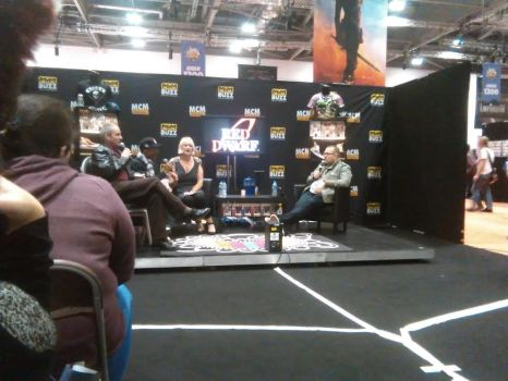 Red Dwarf Panel 2 [London MCM Expo / Comic-Con] by DoctorWhoOne
