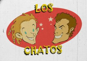 LOS CHATOS by paintmarvels
