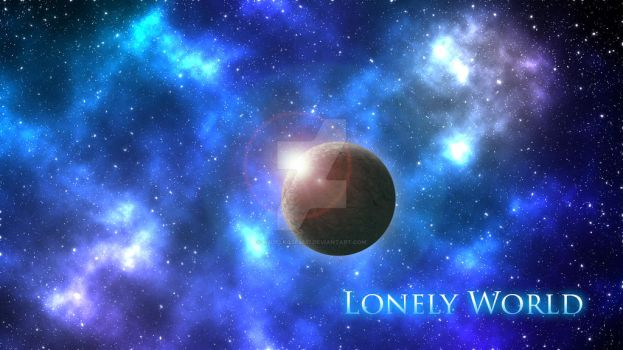 Lonely World by HazelRose3637