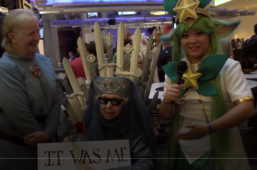 Exclusive  with 87 year old cosplayer doing Lady O by ConnectedTVshow