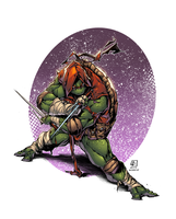 TMNT Raphael by AlonsoEspinoza