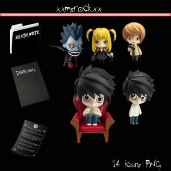 DEATH NOTE by xxmsrockxx