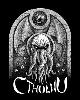 cthulhu tombstone by squerk
