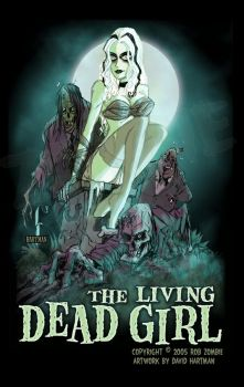 LIVING DEAD GIRL by Hartman by sideshowmonkey