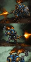 Cygnar: Warjacks II by Mr--Jack