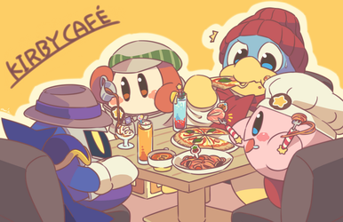 Kirby Cafe by ami24682
