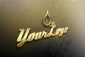 3d-text-style-Gold-Advanced by designercow