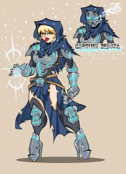 FROST WARRIOR CAROLINE DEROSA by kskillz