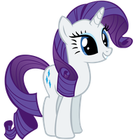 Rarity Smiles by Ohhim