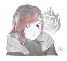 Rwby | Ruby Rose: Original Attire by Emperial-Dawn