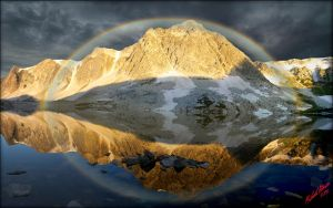 Snowy Range Rainbow by MichaelAtman
